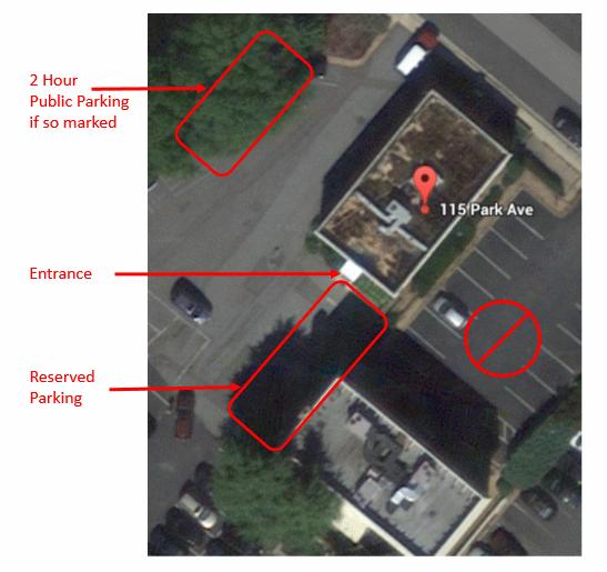 parking at Command Performance AV
