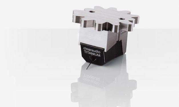 Clearaudio Titanium V2 Moving Coil Phono Cartridge